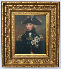 Lord Nelson  Framed Oleograph  R500#E  Reproduction Picture , Art