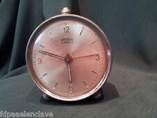 RELOJ DESPERTADOR mesilla Relojes Antiguos principios siglo XX Suiza Colección