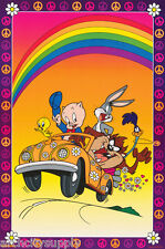 POSTER : ANIMATION: TV :LOONEY TUNES - TAZ VW - CREW - FREE SHIP #1777 RAP13 B