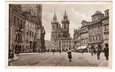 More details for eglise de tyn - prague photo postcard c1910