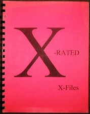 "X-Files Fanzine ""X-Rated X-Files 1, 3"" Adult Romance"