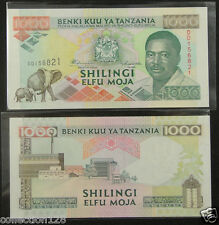 Tanzania Paper Money 1000 Shillings 1993 UNC