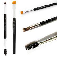 Pro Makeup Double Sided Ended Eyebrow Wand Brow Shaping Angled Eyelash Brush