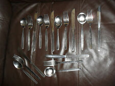 Stainless Steel Cutlery 6 x Knives Forks & Spoons (mixed job lot Ideal for work)