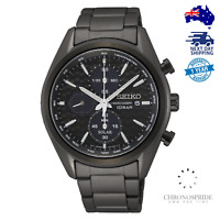 Seiko Prospex SSC773 SSC773P1 Full Black Solar Chronograph Mens Watch