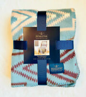 NEW Pendleton Home Collection Reversable Jacquard Classic Throw Sunset Cross