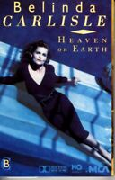 Belinda Carlisle Heaven On Earth 1987 Cassette Tape Album Pop Dance Rock 80s 90s
