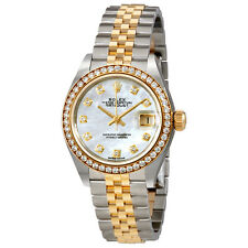 Rolex Lady Datejust Mother of Pearl Diamond Stainless Steel and 18K Yellow Gold
