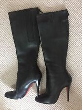 Unbranded Leather Knee High Boots for Women