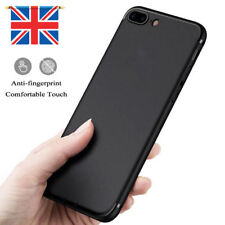 Apple iPhone 8 Plus Shockproof Case Shell Black TPU FREE SCREEN PROTECTOR