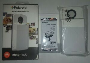 Motorola Moto Mod Polaroid Insta-Share Printer - White