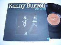 Kenny Burrell For Duke 1981 Stereo Import LP VG++