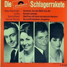 """7"""" Die POLYDOR Schlagerrakete CONNIE FRANCIS / LOLITA / PETER ALEXANDER..EP 1965"""