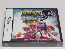 Sonic Chronicles Dark Brotherhood Nintendo DS Japan Japanisch * Brandneu Versiegelt
