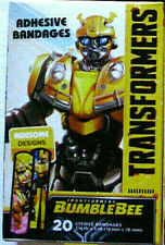 TRANSFORMERS BUMBLEBEE Adhesive Bandages 20 Per Box Awesome Designs