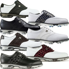 FootJoy Mens DryJoys Tour Waterproof Spiked Golf Shoes 9f5354d5023