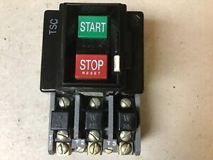 Allen Bradley 609-AOW Manual Starter Size 0