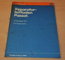 VW Passat B2 Typ 32 1,9 L Vergasermotor ab Modelljahr 1981 Werkstatthandbuch