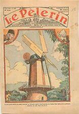 Windmill Moulin à Vent Garden Golden Gate Parlo  San-Francisco USA 1933