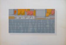 Patrick & Basia SLADEN (XX) Sérigraphie 1975 Signée & justifiée Pop art English