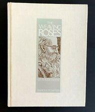 Weaving Roses of Rhode Island Isadora Safner Book Weaver Rose Patterns Vtg Gift