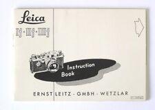 Leica If IIf IIIf Instruction Manual 1968 in English