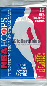 1989-90 NBA HOOPS SERIES 2 BASKETBALL SEALED 15-CARD WAX PACK UNSEARCHED NEW WOW