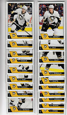 16/17 OPC Pittsburgh Penguins Team Set - Crosby Fleury +