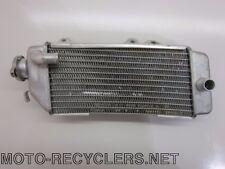11 KX250F KXF250 KX 250F right radiator 114
