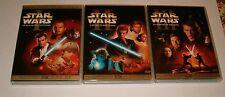 STAR WARS  PREQUEL EPISODI  I  II   III   EDIZIONE 2 DVD  THX