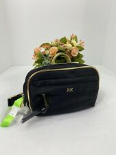 New Michael Kors Fanny Pack Black Nylon Adjustable Waist Belt Bag Zip  B2E