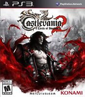 Castlevania: Lords of Shadow 2 (Sony PlayStation 3, 2014) PS3 MINT!