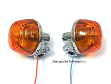 Pair Turn Signal Indicator flasher Blinkers for Honda Trail CT70 CT90 CT125