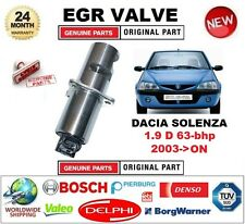 FOR DACIA SOLENZA 1.9 D 63 bhp 2003-> Electric EGR VALVE 5PIN with GASKETS/SEALS