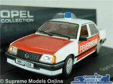 OPEL ASCONA C MODEL CAR FIRE 1:43 SCALE IXO COLLECTION VAUXHALL CAVALIER MK2 K8