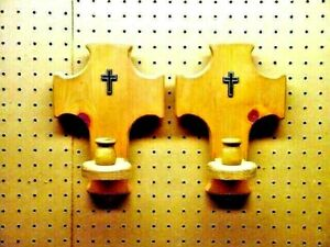 Cross Sconces (Candle Holders)