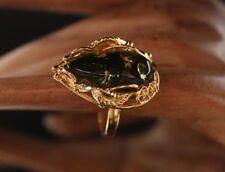Natürliche gefärbte Echtschmuck-Ringe aus Sterlingsilber