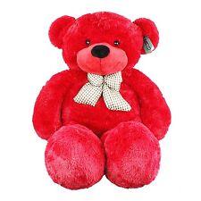 "Joyfay® Red Giant Teddy Bear 47"" 120cm Stuffed Toy Christmas Gift"