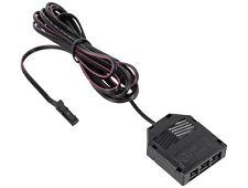 12V MINI-AMP 2m Anschlusskabel 3-fach Verteiler + Stecker Kabel Adapter schwarz