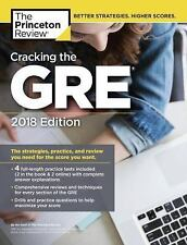 CRACKING THE GRE 2018 Princeton Review NEW book graduate school test study guide