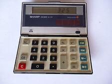 SHARP calculatrice elsimate El -331 énergie solaire-Collectors OBJET-VINTAGE RARE