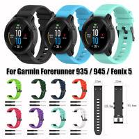 Silikon 22mm Armband Strap Watch Band For Garmin Fenix 5 / Forerunner 935 / 945