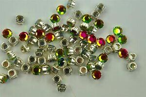 Vitrail Medium 34ss Preciosa Machine Cut Sew On Stones 72 pieces -A0474