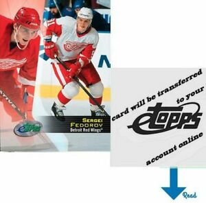 Sergei Fedorov 2002 eTopps (Qty: 1) - transferred to your account