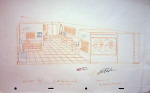The Simpsons Production SIGNED CHRIS BOLDEN Hand Drawn EYE CARAMABA Praiseland