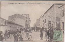 TERRANOVA PAUSANIA OLBIA SASSARI CORSO E ALBERGO ANIMATA 1913 BELLA !