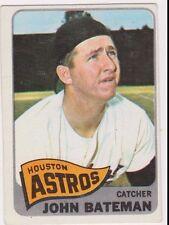 1965 Topps #433 John Bateman - Houston Astros, Excellent - Mint Condition!