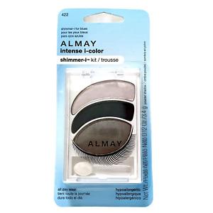 Almay Intense i-color Shimmer-i Kit Eyeshadow Trio for Blue Eyes 422 New Sealed