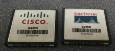 Cisco 64MB 16-2647-04 & 32MB 17-6715-01 CF CompactFlash Cards - FREE SHIP!