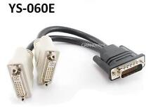 8 inch DMS-59 to Dual DVI Female Monitor Splitter Cable - CablesOnline YS-060E